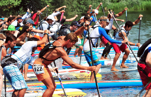Команда Fanatic SUP на Lost Mills International SUP Race!